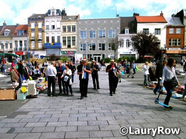 Le 4/09/2016 Un petit tour à Tourcoing ...