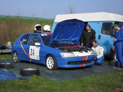 l'assistance au Rallye du Solognot 2013
