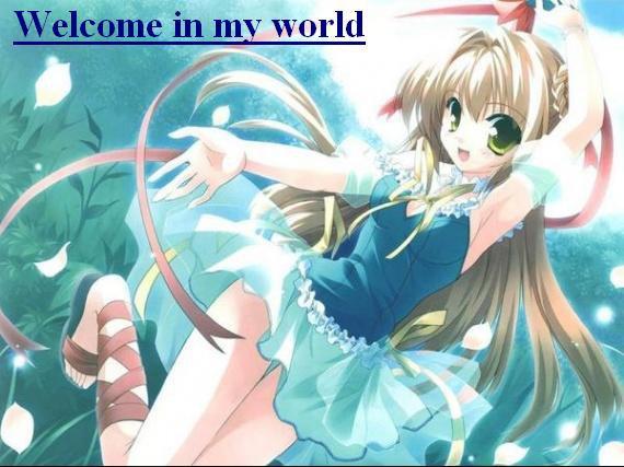 Bienvenue! Bienvenue! Bienvenue! 8D Je vous souhaite la bienvenue sur ce lieu unique au monde!!! 8DDD Euh... unique?!
