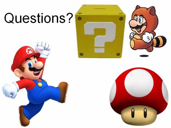 Des questions? Allez ne soyez pas timides! 8D