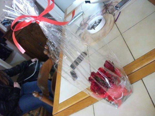 Mon cadeaux pour la saint Valentin et nos 13 ans de mariage