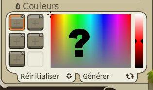 Changement de couleurs !