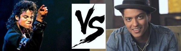 5ème battle --> Michael Jackson  V.S  Buno Mars