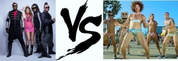 8ème battle --> Black Eyed Peas V.S LMFAO