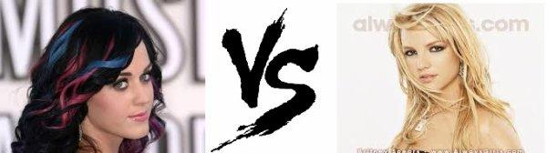 9ème battle --> Katty Perry V.S Britney Spears