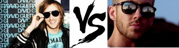 7ème Battle --> David Guetta V.S Calvin Harris