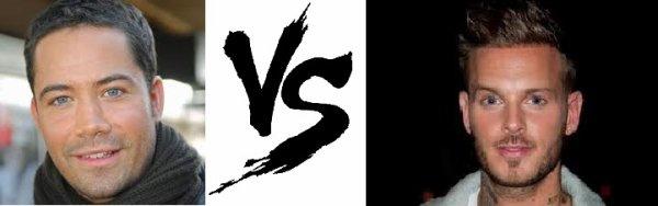 11ème Battle --> Emmanuel Moire V.S Matt Pokora
