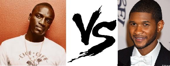 17 ème Battle --> Akon V.S Usher