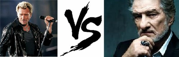 20 ème Battle --> Johnny Hallyday V.S Eddy Mitchell
