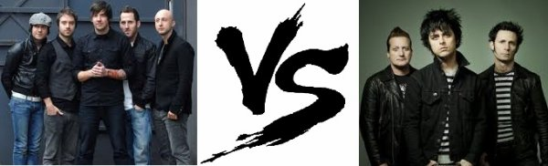 34 ème Battle --> Simple Plan V.S Green Day