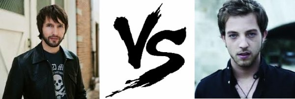 42 ème Battle --> James Blunt V.S James  Morrison