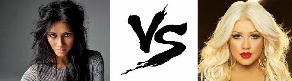45 ème Battle --> Nicole Scherzinger V.S Christina Aguilera