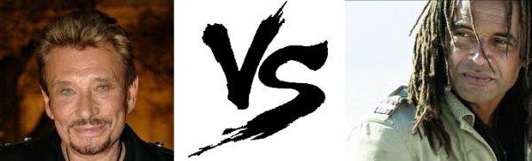 48 ème Battle --> johnny Hallyday V.S Yannick Noah