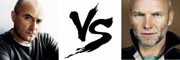 57 ème Battle --> Phil Collins V.S Sting