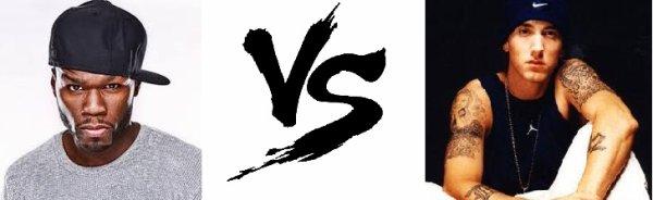 71 ème Battle --> 50 Cent V.S Eminem