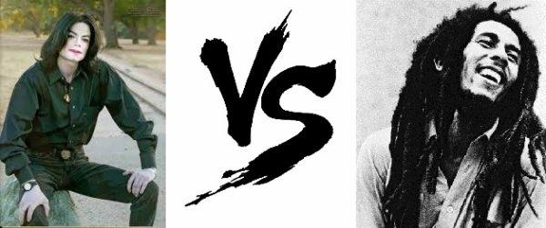 79 ème Battle -->  Mickael Jackson V.S Bob Marley