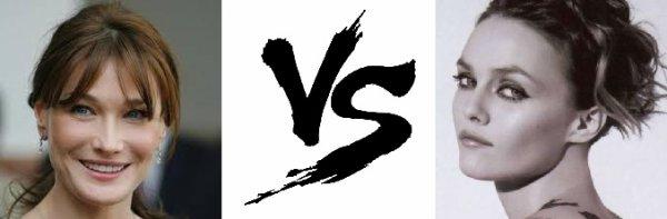 84 ème Battle --> Carla Bruni V.S Vanessa Paradis