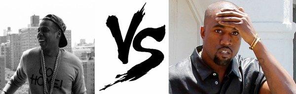 85 ème Battle --> Kanye West V.S Jay Z