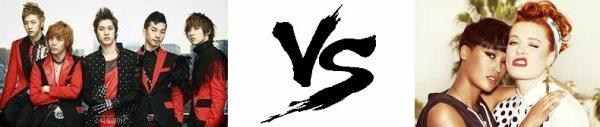 87 ème Battle --> MBLAQ V.S Icona Pop