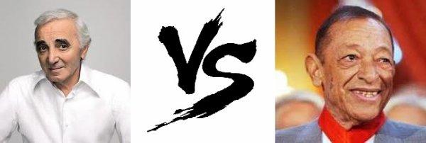 89 ème Battle --> Charles Aznavour V.S Henri Salvador