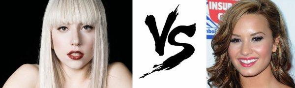 97 ème Battle --> Lady Gaga V.S Demi Lovato