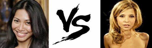 99 ème Battle --> Anggun V.S Najoua Belyzel