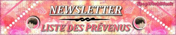 ☼ NEWSLETTER (LISTE DES PREVENUS) ☼