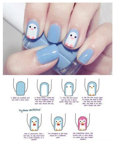 Petit nail art sympa
