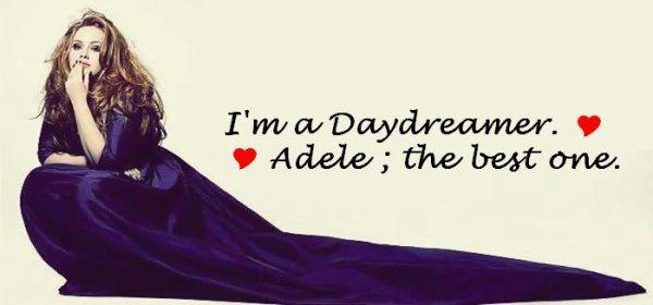 Ma page consacré a la merveilleuse Adele