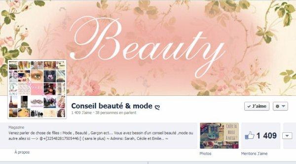 Les pages Facebook a aimer .