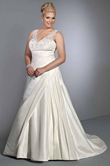 Persun : Robe de mariage grande taille