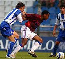 Maillot porté FC TOKYO de Ryuji FUJIYAMA vs la Corogne 2004