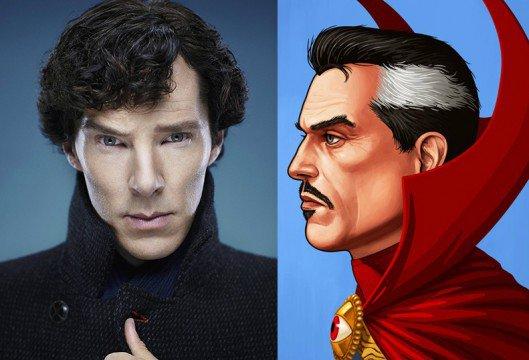 Benedict Cumberbatch est Doctor Strange !