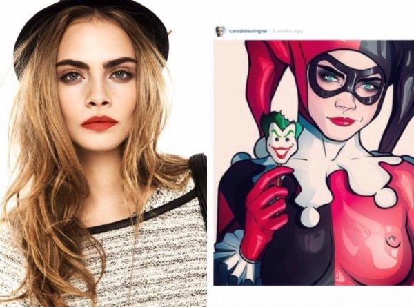 Suicide Squad : Cara Delevingne en Harley Quinn ?