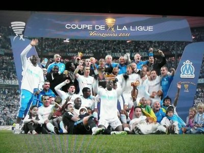 Marseille vainqueur de la coupe de la ligue 2011