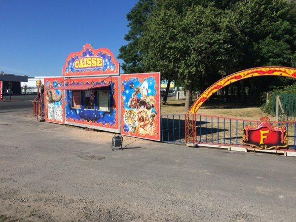 Reportage numéro 5: Cirque La piste d'or Royan Juillet 2016
