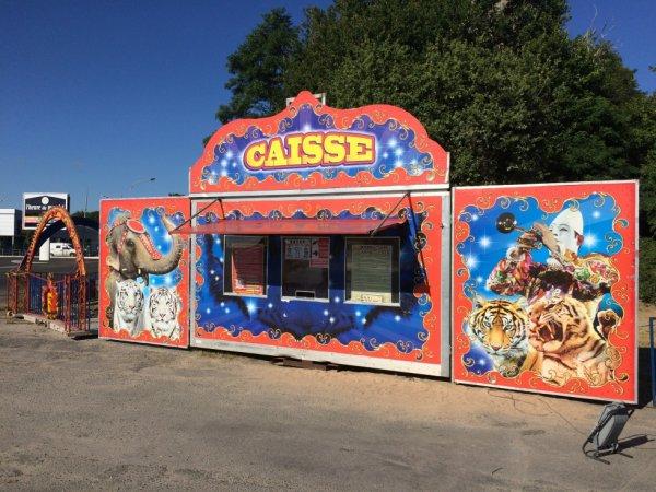 Suite du reportage numéro 5: Cirque La piste d'or Royan juillet 2016