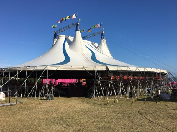 Démontage Grand Cirque Sur l'eau Juillet 2018