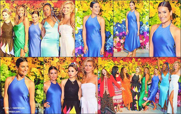 """•••   EVENTS :   Lea a assisté au Alice + Olivia's Pride Prom au Parrish Art Museum à New York, le 24 juin 2021           Dans le cadre de la Pride Month, le dress code été  """"Somewhere Over the Rainbow"""". AnnaLynne McCord était aussi présente."""