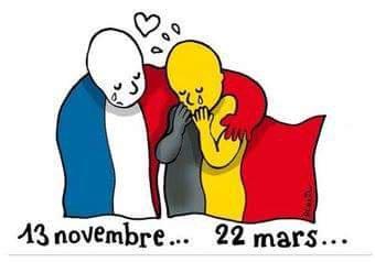 Vive la France et Vive la Belgique