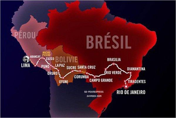 . Saison 3: La route des Incas.