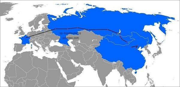 . Saison 1: La route du Transsibérien.