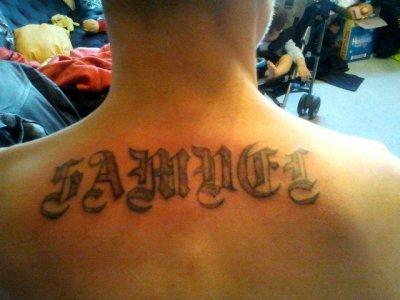 Mon nouvo tatoo