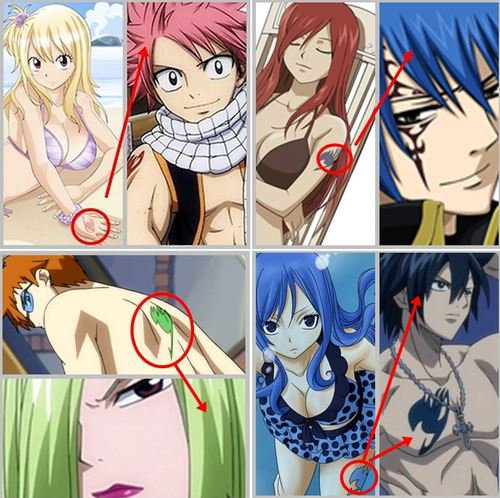Fairy Tail - Les couples