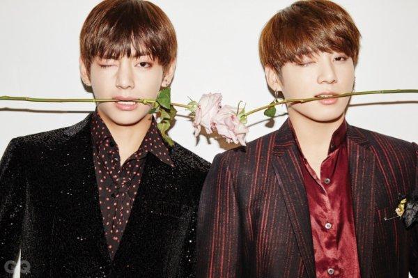 BTS - Men Of The Year - Taehyung & Jungkook
