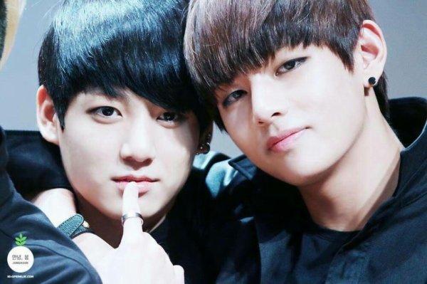 Bts - Kook et Tae à leurs débuts