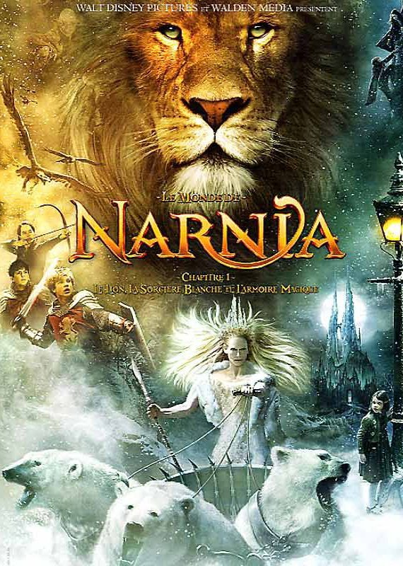 2005 le monde de narnia le lion la sorci re blanche. Black Bedroom Furniture Sets. Home Design Ideas