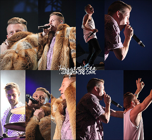 .29/06/13 : Macklemore & Ryan Lewis performant au festival Couleur Cafe à Bruxelles (Belgique).