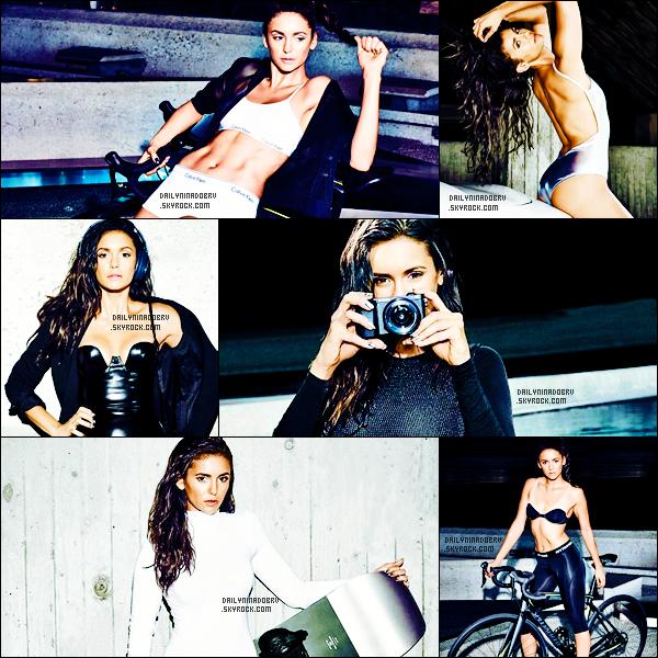 * 2016 - Nina pose pour le mois de décembre dans le magazine Men's Health sous l'objectif de Ray Davidson. Je trouve Nina vraiment superbe sur ces photos qui la mettent largement en valeur! Elle fait femme fatale dessus. Avis? *