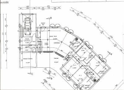 plan maison du sud. Black Bedroom Furniture Sets. Home Design Ideas